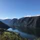 Mountains, Cliff, and the Norwegian Fjord