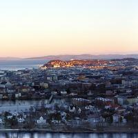 Panoramic Cityscape of Trondheim