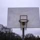 Basketball goal in the playground