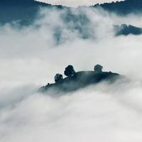 Clouds, Mist, and Mountains