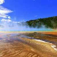 Geyser Landscape and scenery
