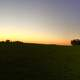 Panorama of Beautiful Dusk Landscape