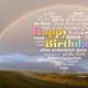 Rainbow for Happy Birthday