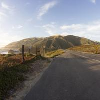 Road by the Coast in California