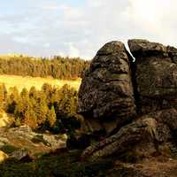 Rock Formation landscape and scenery