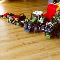 A series of great toy tractors