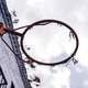 Basketball Hoop Without a Net