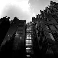 Black and White Monochrome architecture