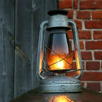 Bright Glowing Lantern