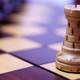 Chess Piece on a playing board