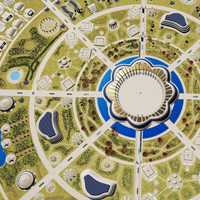 Circular City Structure Object of the Zeitgeist Movement