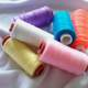 Coloring Sewing Threads Photo