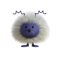 Furry Hedgehog model
