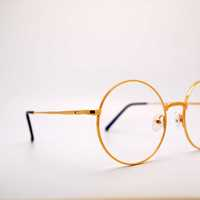 Gold Rimmed Glasses