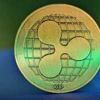 Golden Ripple XRP coin