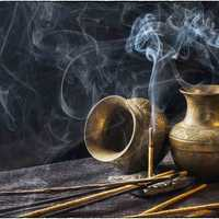 Incense Sticks and Pots