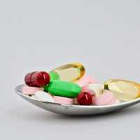 Medicine Pills on a Spoon