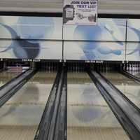 Bowling ball lanes interior