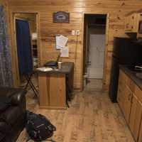 Cabin Room with furnishings