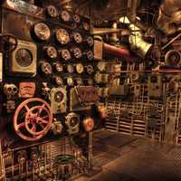 Engine Rooms with gears