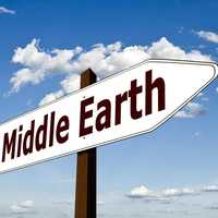 Sign for Middle Earth