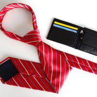 Tie and Wallet