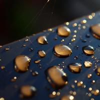 Tiny Droplets on a surface