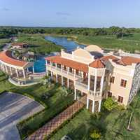 Tropical Mansion aerial photo