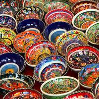 Very Colorful Turkish Bowls