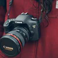 Women wearing Canon 7D Camera
