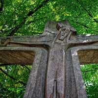 Wooden Jesus Cross