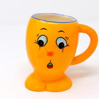 Yellow Weasel Cup face