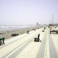 Seashore at Clifton Beach, Karachi, Pakistan