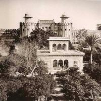 Lahore Fort in 1870 in Pakistan