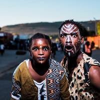 African Tribal Faces and Facepaint