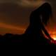 beautiful-woman-silhouette-at-sunset