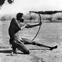 Bushman Archer warrior vintage