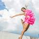 dancer-jumping-in-funny-pink-costume