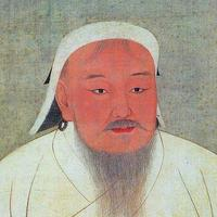 Genghis Khan drawing and Portrait