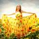 girl-in-sunflower-dress-and-sunflower-field