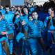 group-of-people-in-blue-face-paint-and-costumes