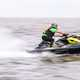 Man on fast Jetski