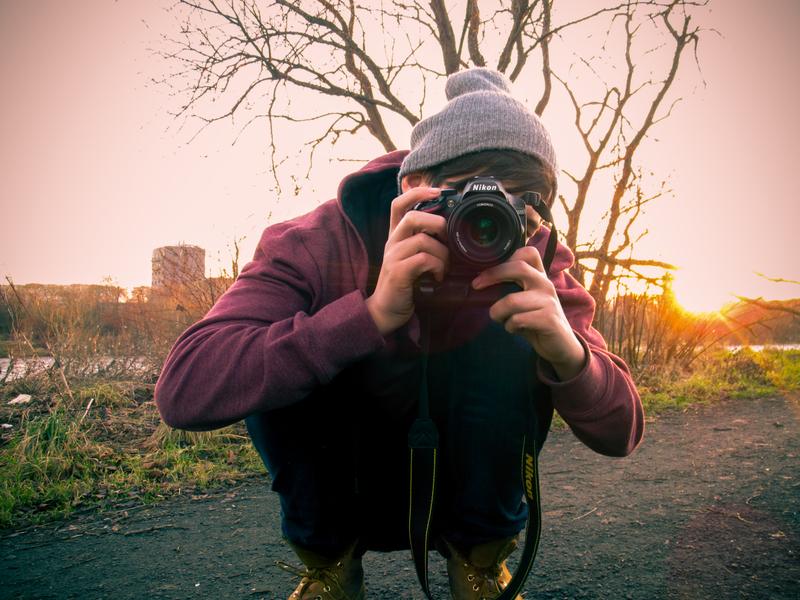 Man Taking Photo with Camera image - Free stock photo ...