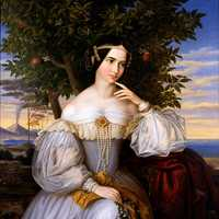 Marriage Portrait of Charlotte von Rothschild