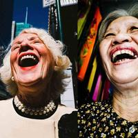 Old Laughing Ladies