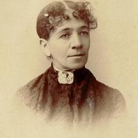 Old Photograph taken in the 1880s of a woman