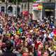 People Marching in Pride Parade