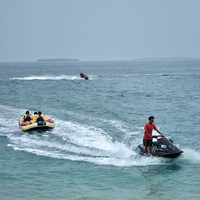 People on Jetski