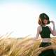 pretty-girl-in-black-tank-top-in-a-field
