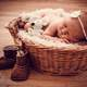 small-baby-in-a-basket